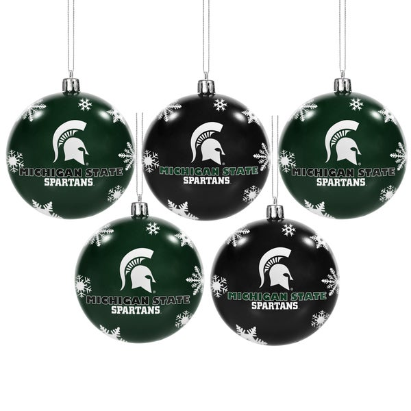 Michigan State Spartans 2016 NCAA Ball Ornaments 22117754
