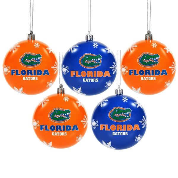 Florida Gators 2016 NCAA Shatterproof Ball Ornaments 22117801
