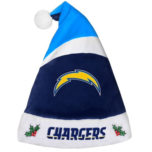 San Diego Chargers NFL 2016 Santa Hat