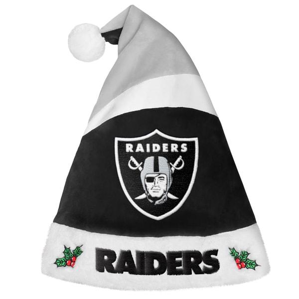 Oakland Raiders NFL 2016 Santa Hat 22117812