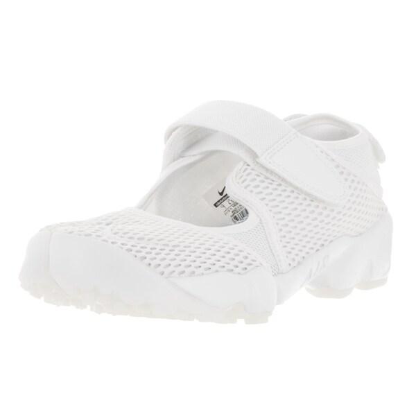 Nike Women's Air Rift Br White/Pure Platinum Running Shoes