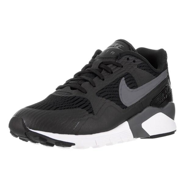 Nike Women's Air Pegasus 92/16 Black, Dark Grey, and White Running Shoe