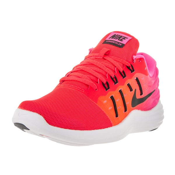 Nike Women's Lunarstelos Bright Crimson Running Shoe 22118503