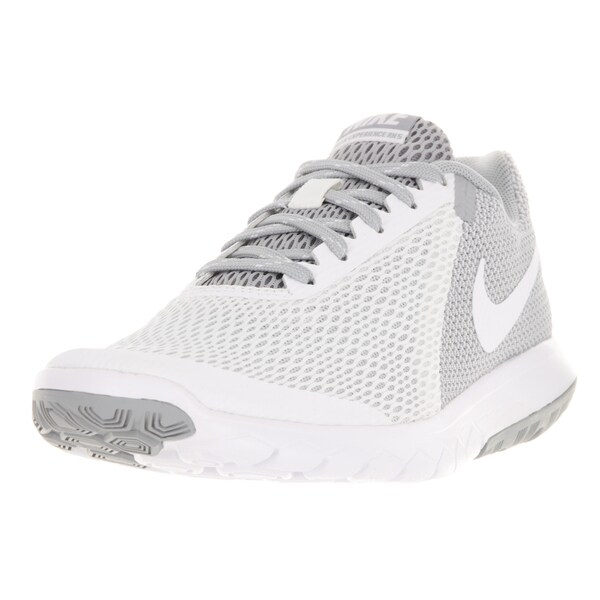 Nike Women's Flex Experience Run 5 White Wolf Grey Running Shoe