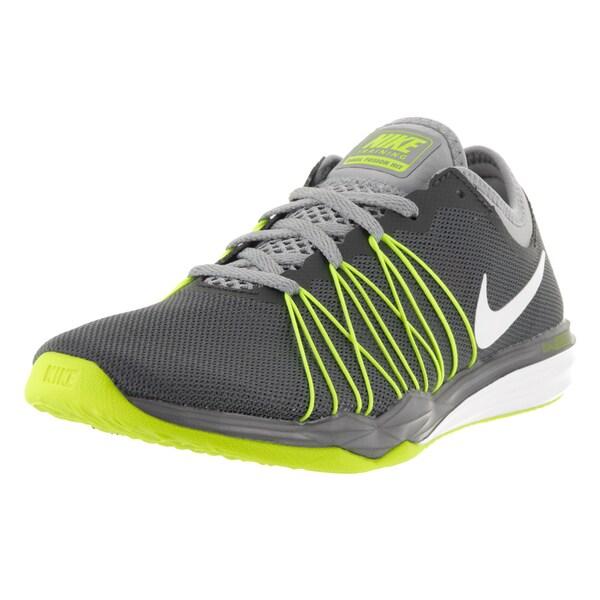 Nike Women's Dual Fusion Dark Grey/White Training Shoe 22118699