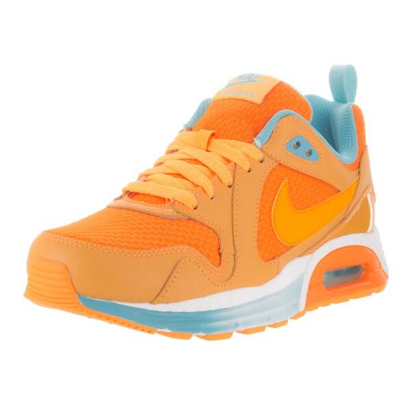 Nike Women's Air Max Trax Atmc Mango/Kmqt White Plrzd Bl Running Shoe