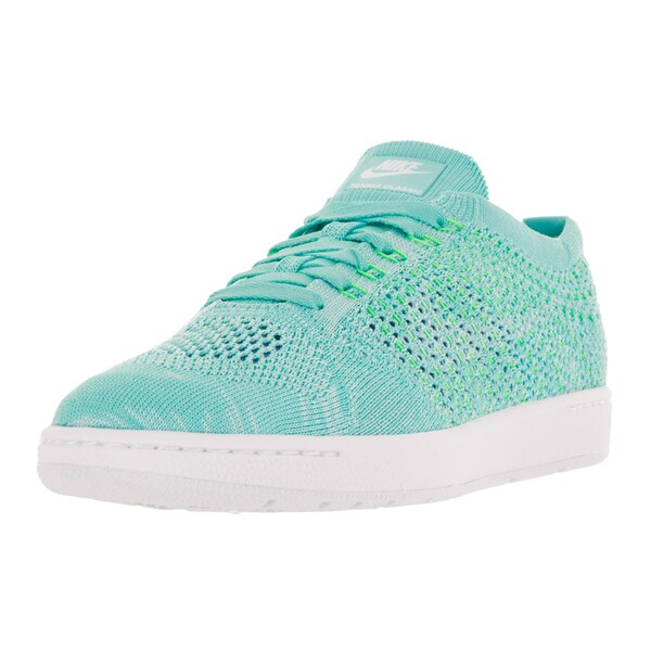 Nike Women's Tennis Classic Ultra Flyknit Hyper Turquoise Tennis Shoes