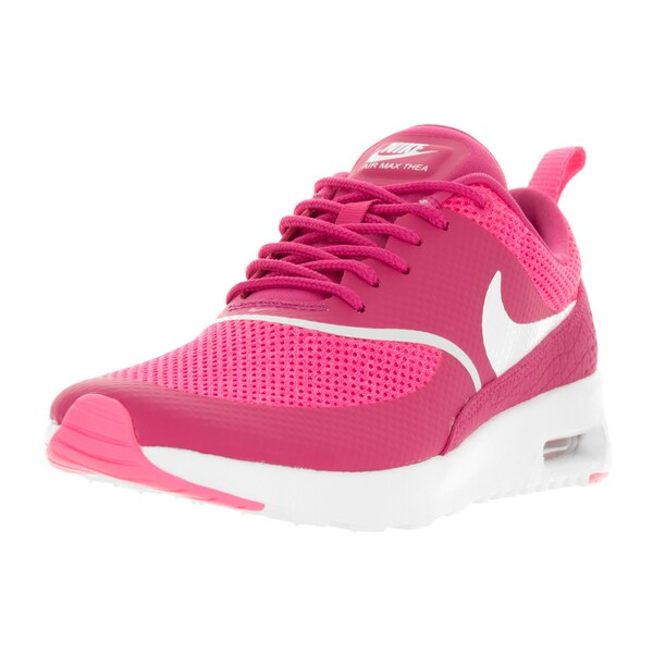 Nike Women's Air Max Thea Vivid Pink/Summit White Running Shoe
