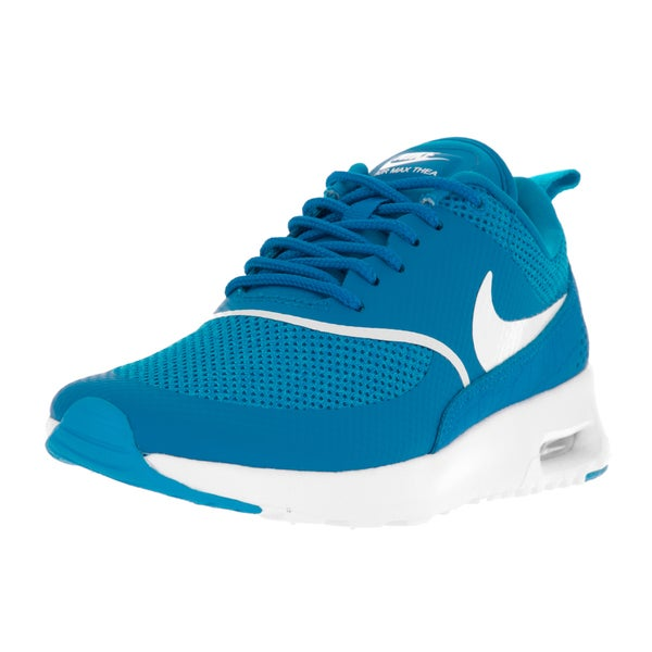 Nike Women's Air Max Thea Blue/White Textile Running Shoe