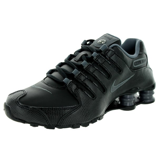 Nike Women's Shox NZ EU Black/Dark Grey/Black Running Shoe