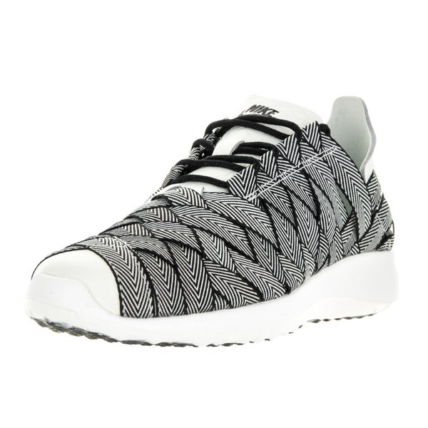 Nike Women's Juvenate Premium Black, Sail, and White Woven Textile Casual Shoes