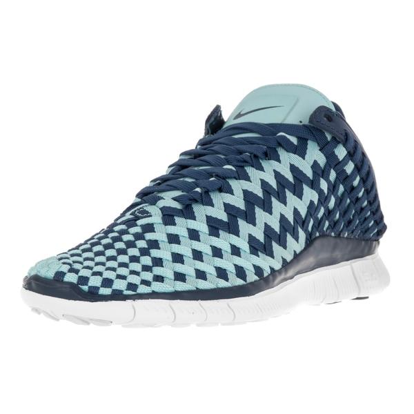 Nike Women's Free Inneva Blue Textile Running Shoe 22119406