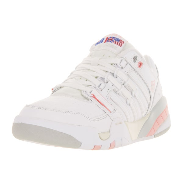 K-Swiss Women's SI-18 International White Leather Casual Shoes