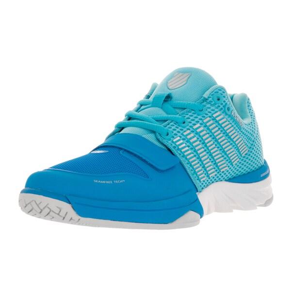 K-Swiss Women's X Court Blue Aster/Bachelor Button Casual Shoe