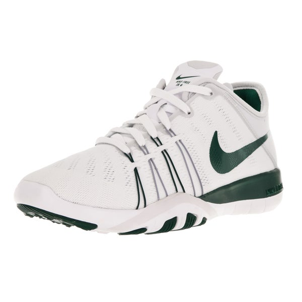 Nike Women's Free Tr 6 White/Gorge Green/Pure Platinum Training Shoes