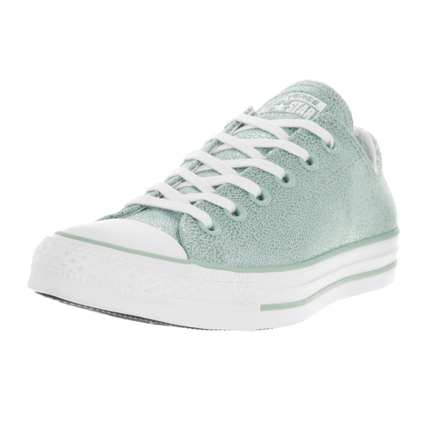 Converse Women's Chuck Taylor All Star Stingray Metallic Ox Metallic Glacier/White/White Basketball Shoes