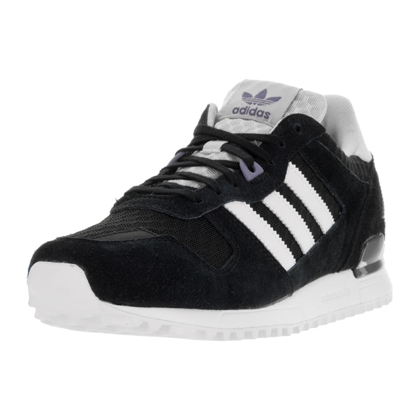 Adidas Women's ZX 700 W Originals Black and White Suede Running Shoes