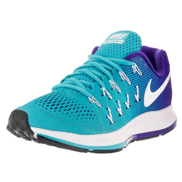 Nike Women's Air Zoom Pegasus 33 Gamma Blue/White Concord Black Running Shoe