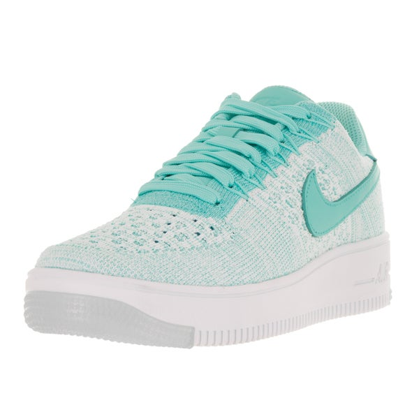 Nike Women's AF1 Flyknit Low Hyper Turquoise/Hyper Turquoise Casual Shoes
