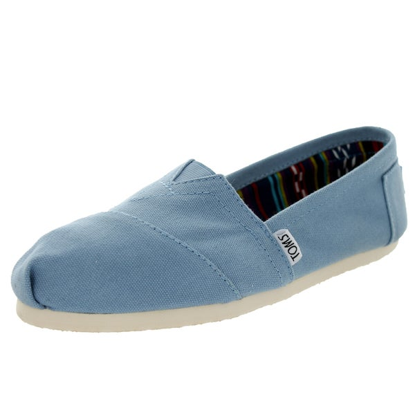Toms Women's Classics Toms Blue Casual Shoes