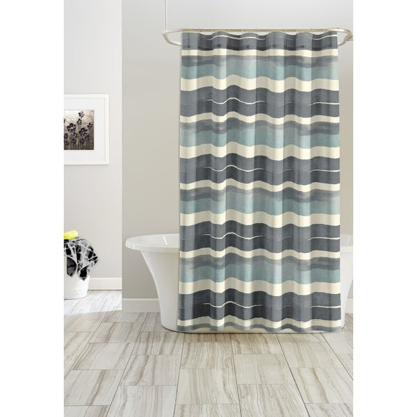 Pointehaven Sky Shower Curtains 72 x 72