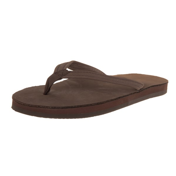 Rainbow Sandals Women's Expresso Leather Single Layer Premier Sandals