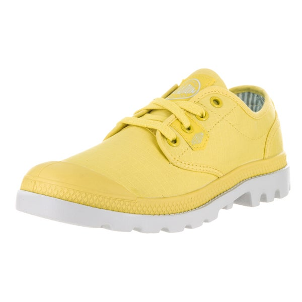 Palladium Women's Pampa Oxford Lite B. Yellow/Vapor Casual Shoe