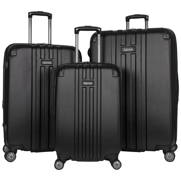 "Kenneth Cole Reaction ""Reverb"" 3-Piece Expandable Hardside 8-Wheel Spinner Luggage Set"