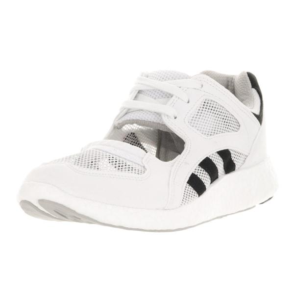 Adidas Women's White Plastic Equipment Racing Casual Shoe