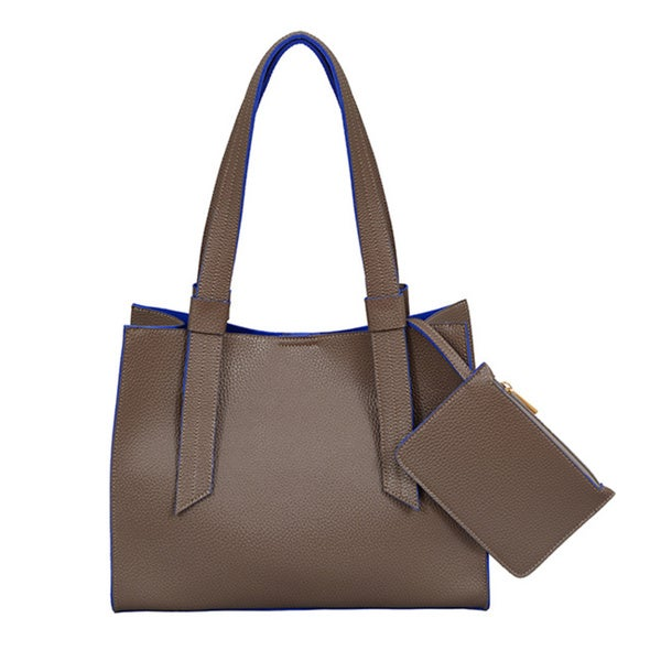 Mellow World Anna Mocha Medium Structured Tote Bag