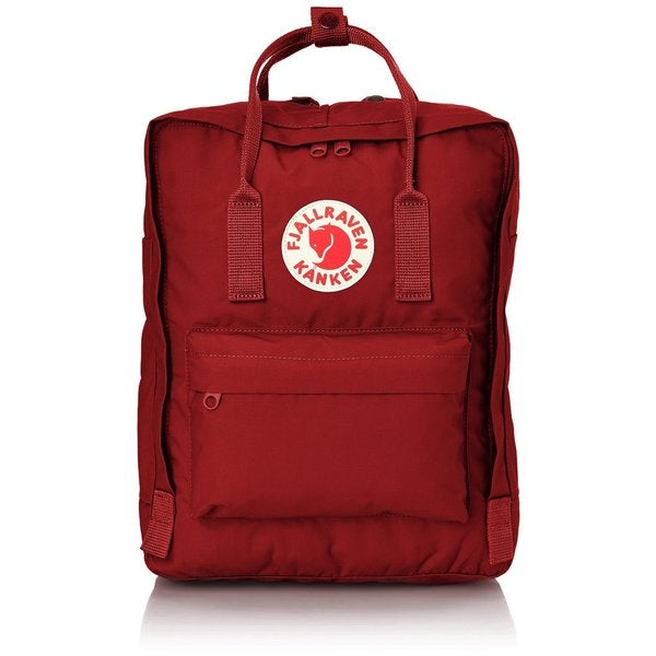 Kanken Deep Red Mini Backpack