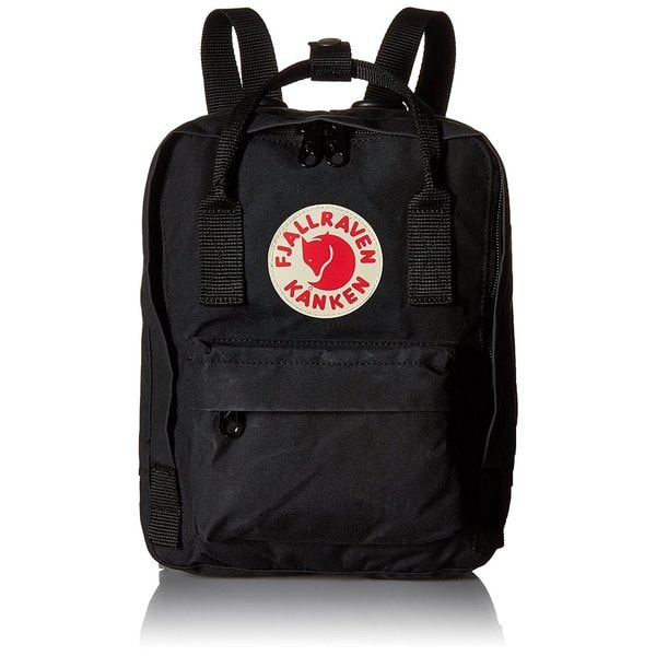 Kanken Black Mini Backpack