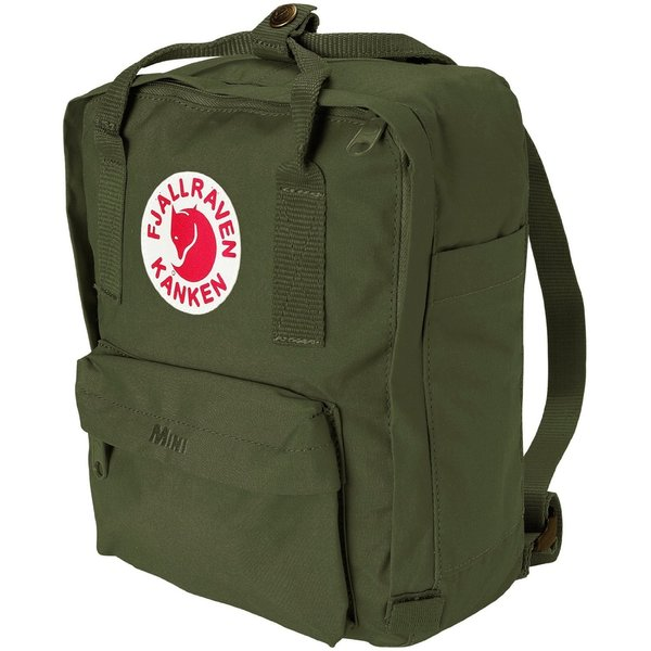 Kanken Forest Green Mini Backpack