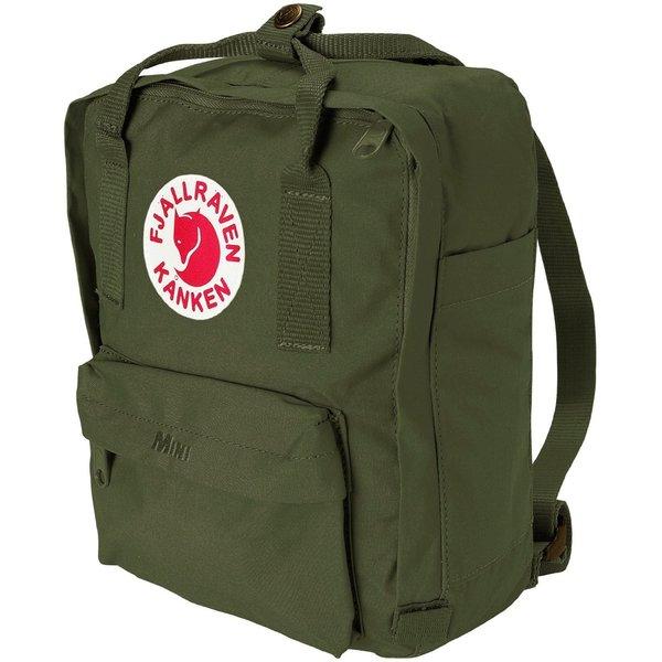 Kanken Forest Green Mini Backpack