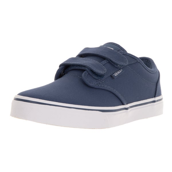 Vans Kids Atwood V Blue Canvas Skate Shoe