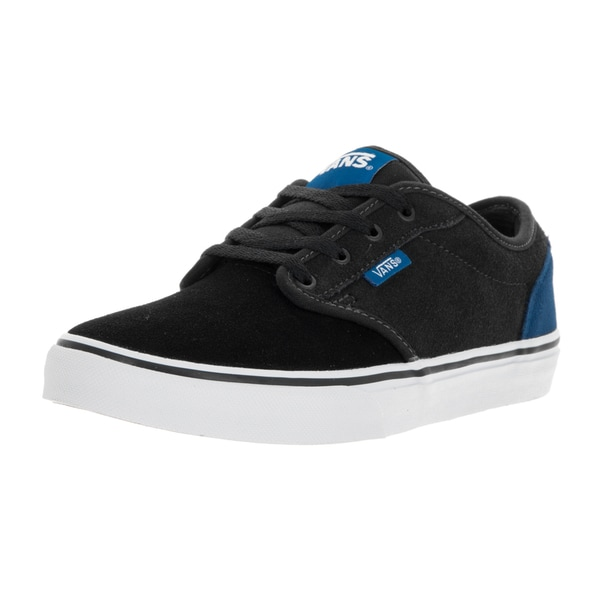 Vans Kid's Atwood Classic Blue, Pewter, and Black Skate Shoe