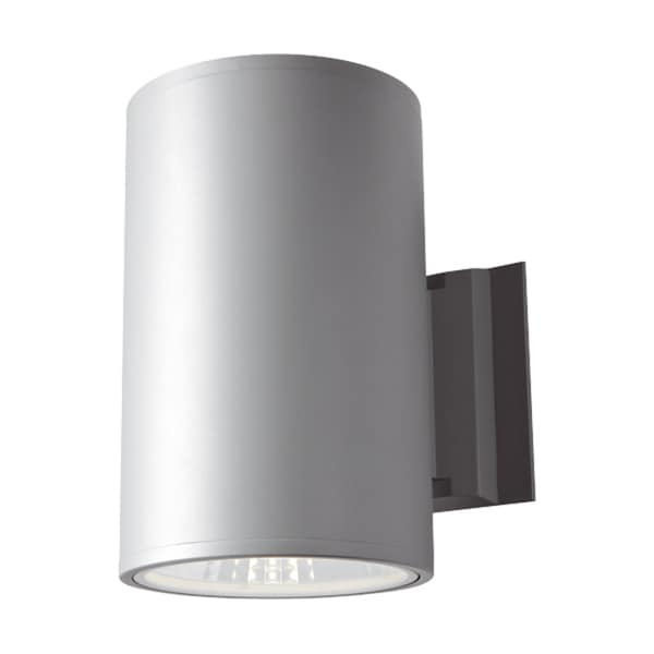 Dals Lighting Aluminum 10-watt LED 4-inch Cylinder Down/Up Light Wall Sconce