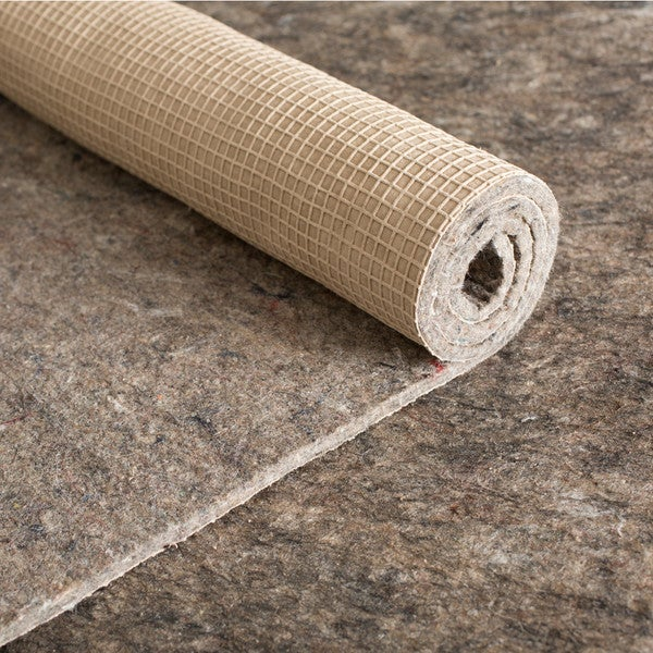 """GripSoft Extra 7/16"""" Thick Non-Slip Cushioned Felt & Rubber Rug Pad (10' x 13') 22131265"""