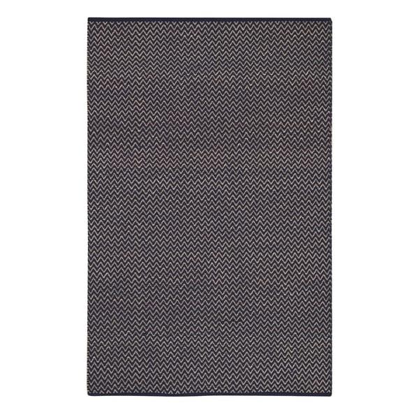 Allie Flat Woven Rugs Navy ( 3' x 5')