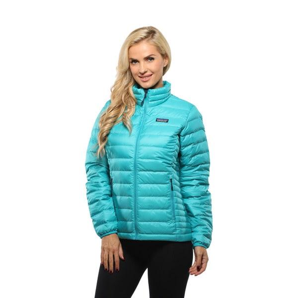 Patagonia Women's Epic Blue Down Sweater Jacket