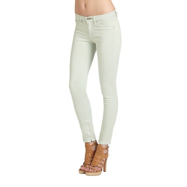 Rag & Bone Women's Distressed Mint Viscose-blend Crop Jeans