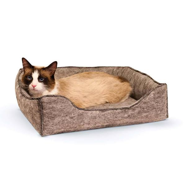 K&H Amazin' Kitty Lounge Sleeper Bed
