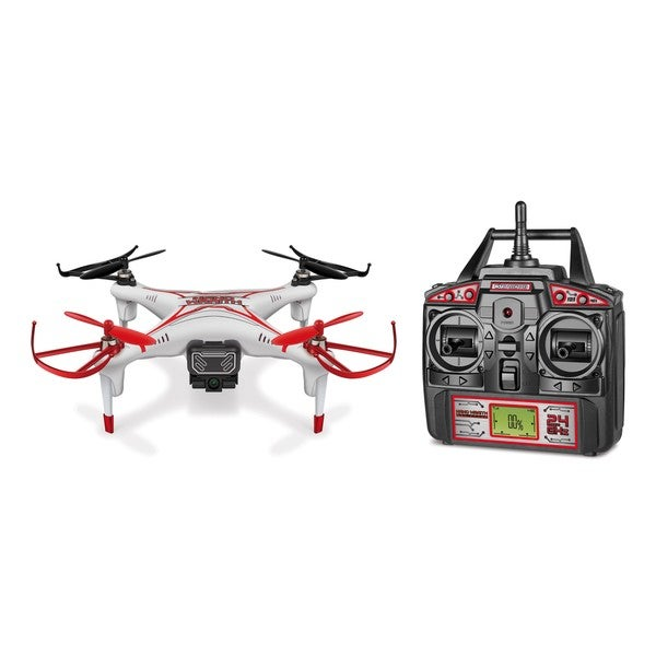 World Tech Toys Nano Wraith SPY Drone 4.5 Channel Video Camera 2.4GHz RC Quadcopter