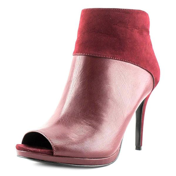 Nine West Women's 'Get On It' Red Leather Boots