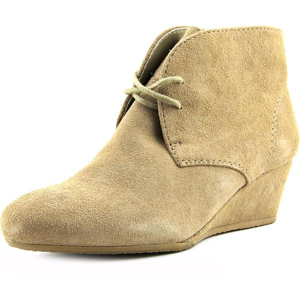 Nine West Women's Laineo Brown Regular Suede Boots