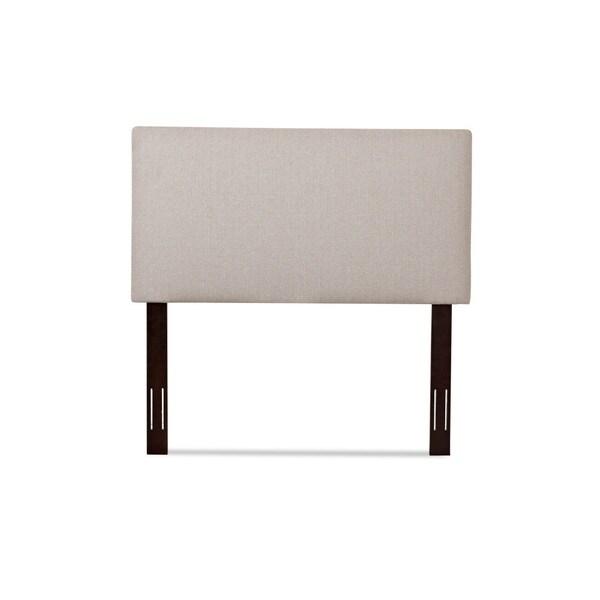 Klaussner Furniture Heron Beige Upholstered Queen Headboard