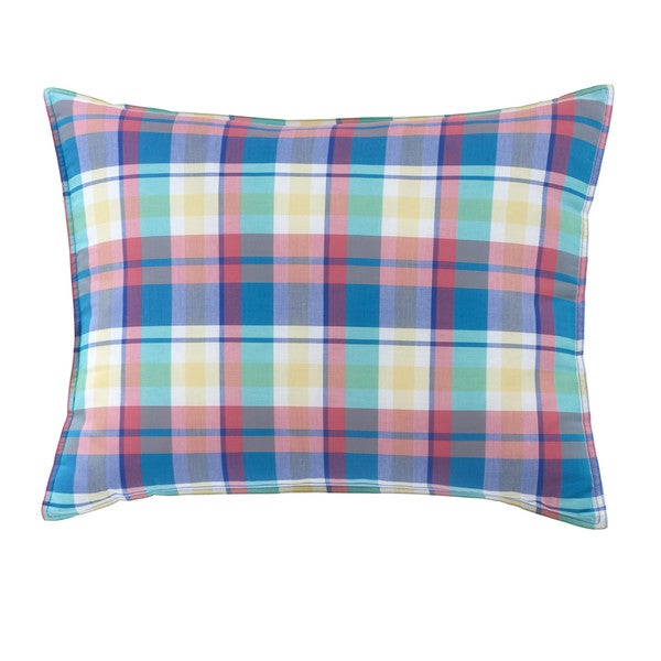 Southern Tide Prep School Plaid Sham