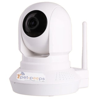 PetCam Interactive 2-Way Audio & Wireless Indoor Pet Camera & Monitor