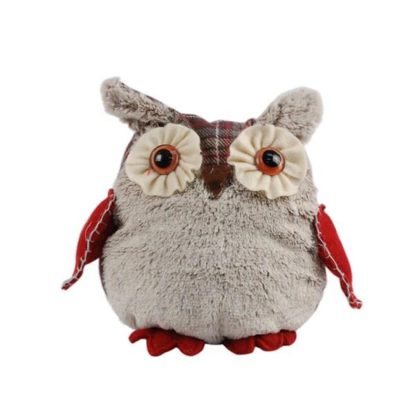 Christmas 7-inch Decorative Owl