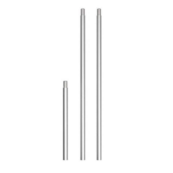 Lithonia Lighting STEM KIT SKA1 BNP Adjustable Length Stem Kit, Brushed Nickel